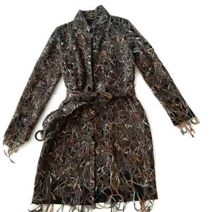POLECI boutique modern chic textural duster beauty
